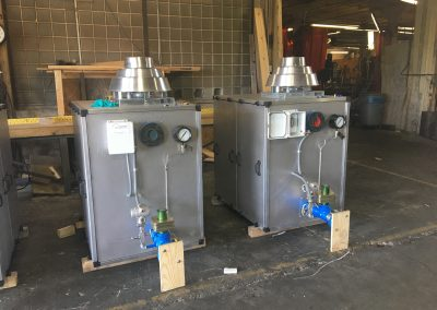 Small PD blower noise enclosures with mounted equipment