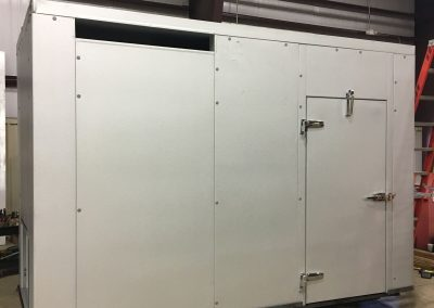 Gas compressor noise enclosure